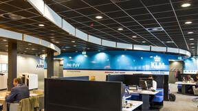 KLM lounge at Schiphol airport, Rockfon Color-all Charcoal, Rockfon Contour, leisure