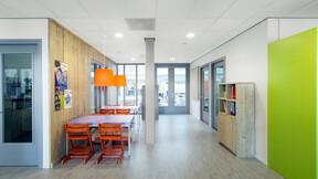 MFA Bitswijk, Uden, The Netherlands, DAT, Van Dijk afbouw, Tenback projecten, Michael van Oosten, Krios, A-edge, 600 x 600, Chicago Metallic 50mm Bandraster 3050